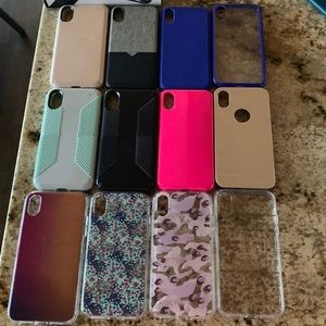 iPhone XS or X cases 12 Cases.